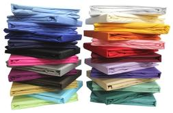 1000 TC EGYPTIAN COTTON PREMIUM BED SHEET SET SOLID ALL COLO