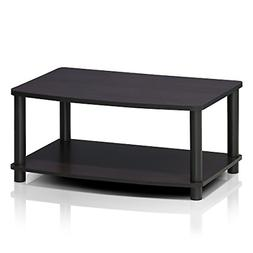 Furinno 13191DWN Turn-N-Tube No Tools 2-Tier Elevated TV Sta