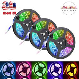 50FT 900LED Strip Lights 3528 SMD RGB Fairy String with Remo