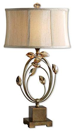 Uttermost Alenya Table Lamp - 100 W Incandescent Bulb - Crys