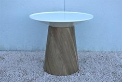Steelcase Campfire Paper Table Features Spinning Table Top,