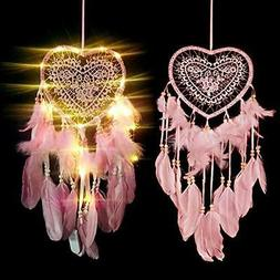 Dream Catcher for Kids,Dreamcatcher with Led Lights,Girls Be