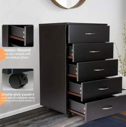 Dressers Chest of Drawers 5 Drawer Bedroom Storage Furniture