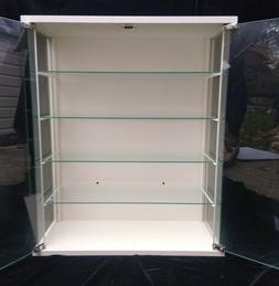 Glass Countertop Display Case Cabinet Toys Hobbies 4 shelves