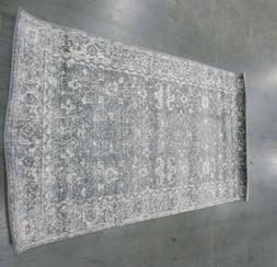 GREY / IVORY 3' X 5' Stained Rug, Reduced Price 1172561561 E