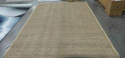 NATURAL / BEIGE 8' X 10' Back Stain Rug Reduced Price 117260