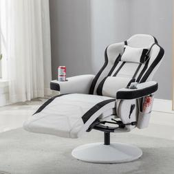 Racing Gaming Chair Ergonomic Leather Swivel Office Computer